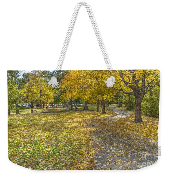Walk In The Park @ Sharon Woods Weekender Tote Bag