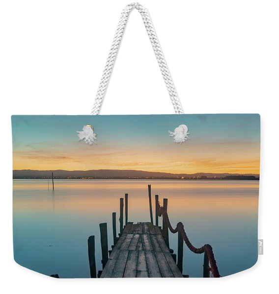 Walk Off Weekender Tote Bag