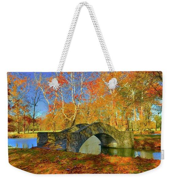 Walking Bridge Weekender Tote Bag