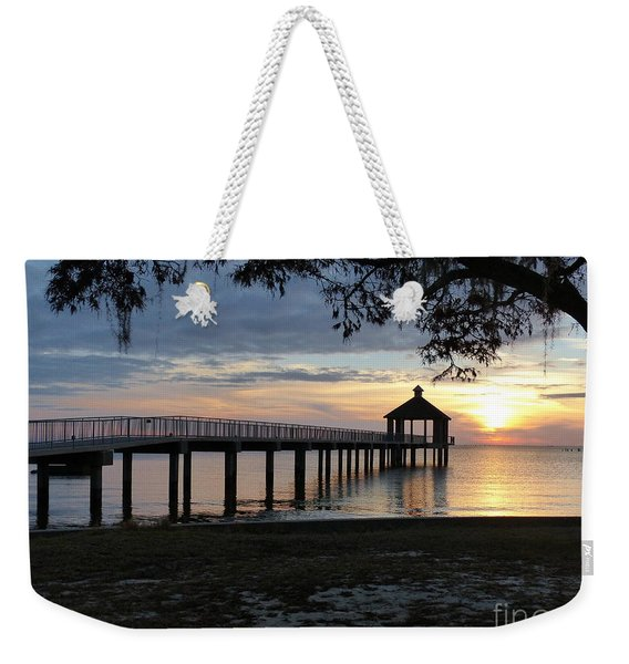 Walking Bridge To The Gazebo Weekender Tote Bag