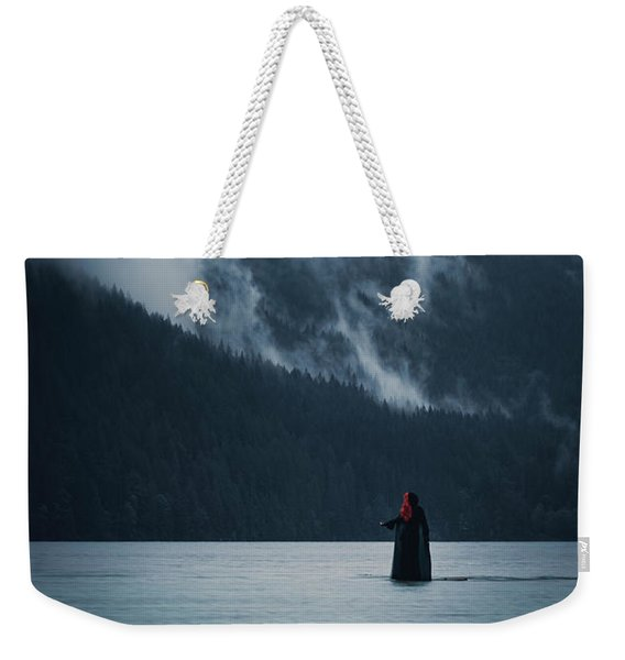 Walking On Water Weekender Tote Bag