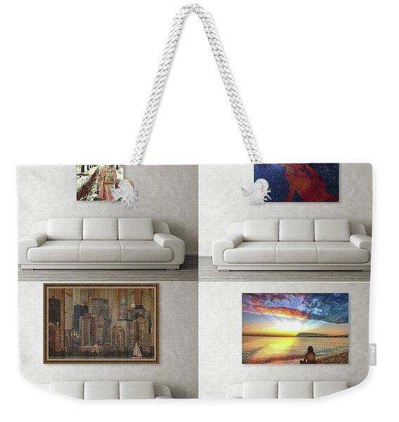 Wall Art Samples Weekender Tote Bag