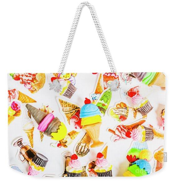 Wall Of Sweetness Weekender Tote Bag