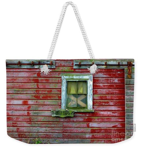 Wallace Barn Weekender Tote Bag