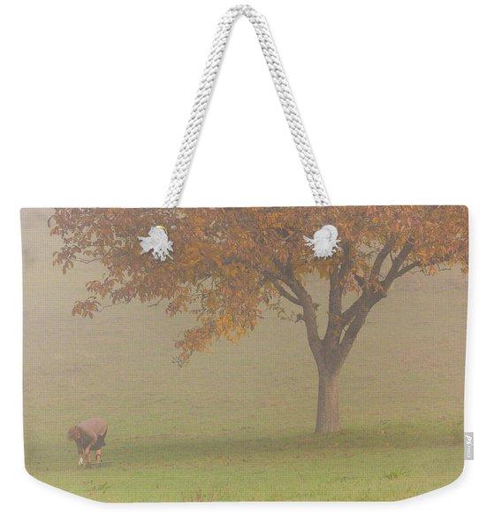 Walnut Farmer, Beynac, France Weekender Tote Bag