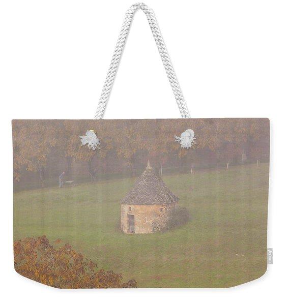 Walnut Farmers, Beynac, France Weekender Tote Bag