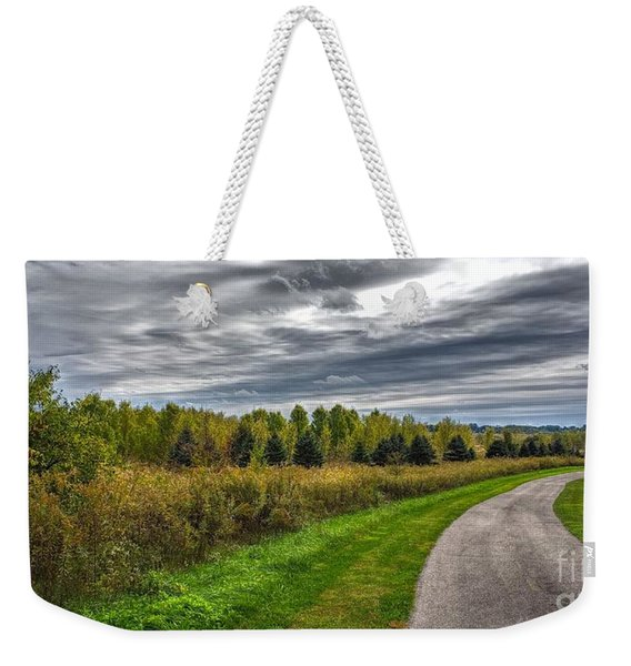 Walnut Woods Pathway - 2 Weekender Tote Bag