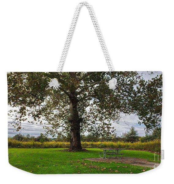 Walnut Woods Tree - 1 Weekender Tote Bag
