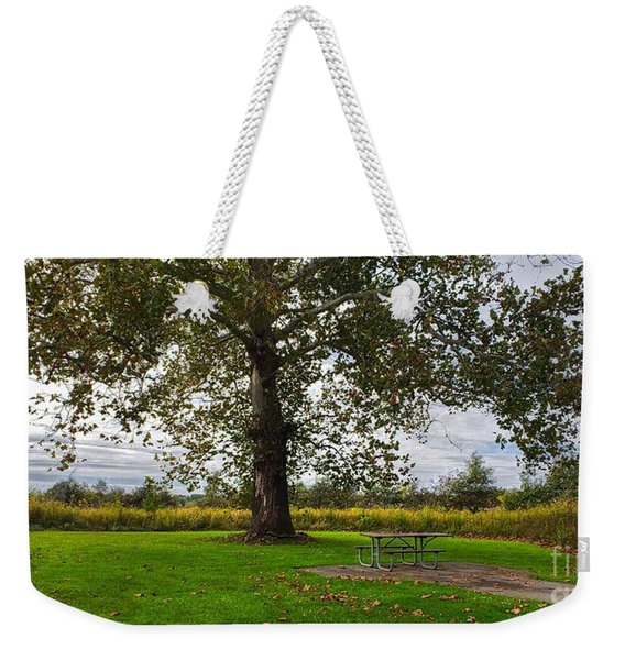 Walnut Woods Tree - 1 Weekender Tote Bag