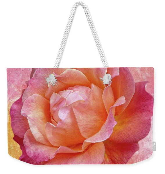 Warm And Crunchy Rose Weekender Tote Bag