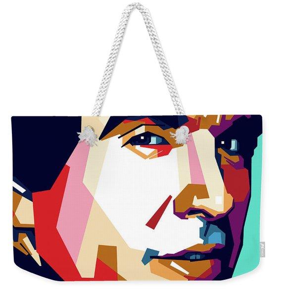 Warren Beatty Weekender Tote Bag