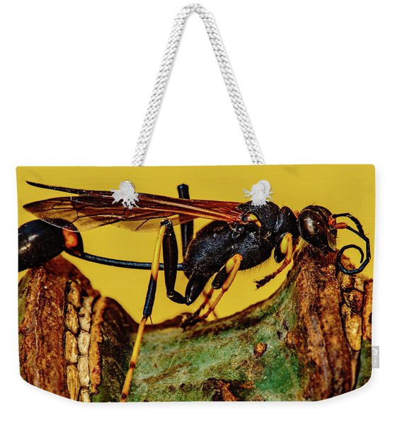 Wasp Just Had Enough Weekender Tote Bag