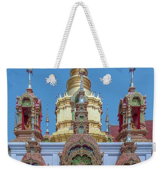 Wat Ban Kong Phra That Chedi Base Dthlu0502 Weekender Tote Bag