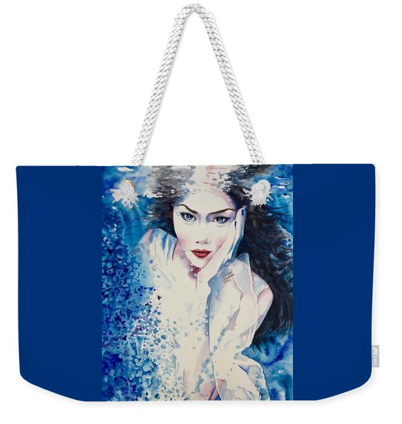 Water Goddess Weekender Tote Bag