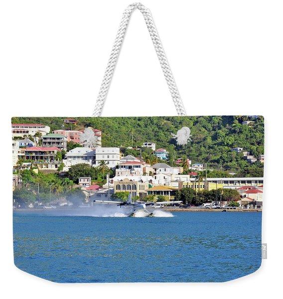Water Launch Weekender Tote Bag