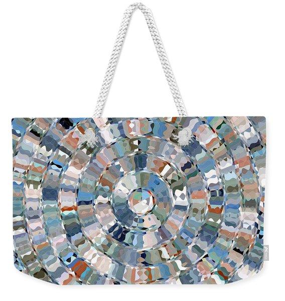 Water Mosaic Weekender Tote Bag