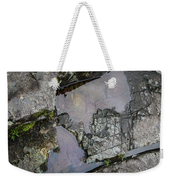 Weekender Tote Bag featuring the photograph Water On The Rocks 3 by Juan Contreras