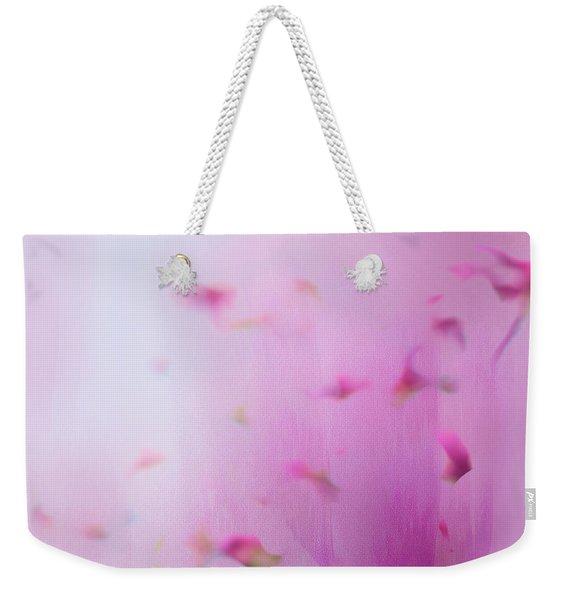 Watercolor Magnolia Weekender Tote Bag
