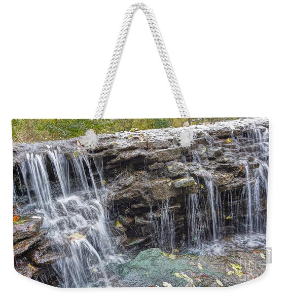Waterfall @ Sharon Woods Weekender Tote Bag