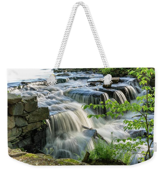 Waterfall At The Old Mill  Weekender Tote Bag