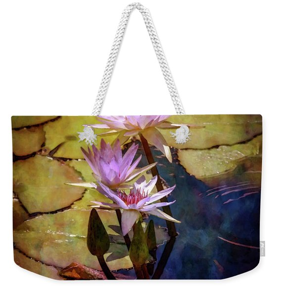Waterlily Bouquet 2922 Idp_6 Weekender Tote Bag