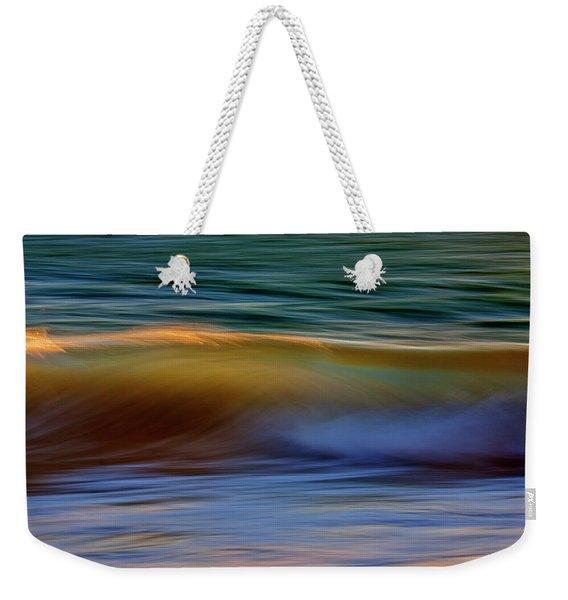 Wave Abstact Weekender Tote Bag