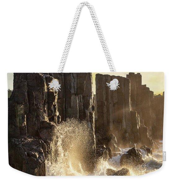 Wave Force Weekender Tote Bag