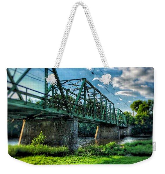 Waverly Bridge Weekender Tote Bag
