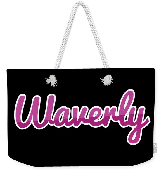 Waverly #waverly Weekender Tote Bag