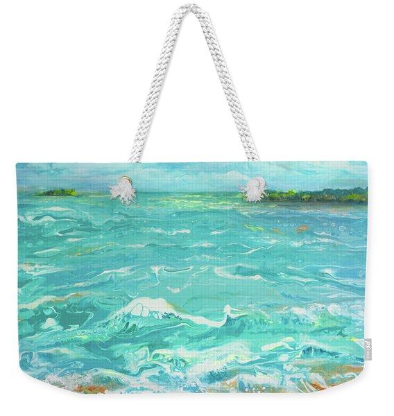 Waves At Sombrero Beach Weekender Tote Bag