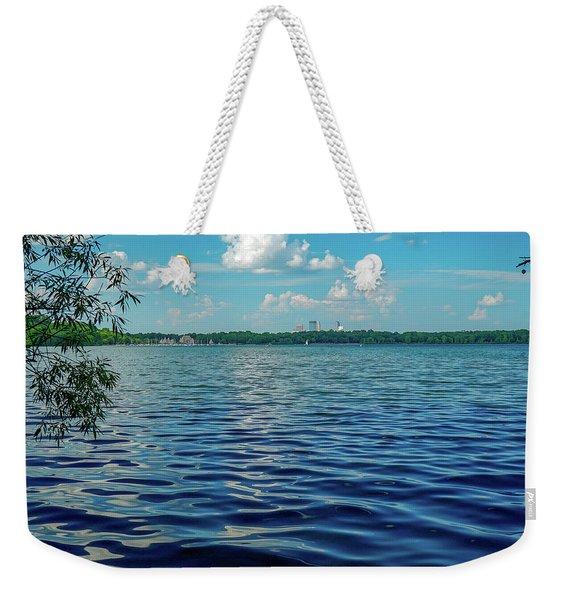 Waves On Lake Harriet Weekender Tote Bag