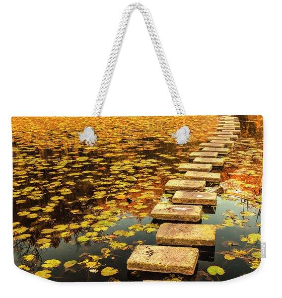 Way In The Lake Weekender Tote Bag