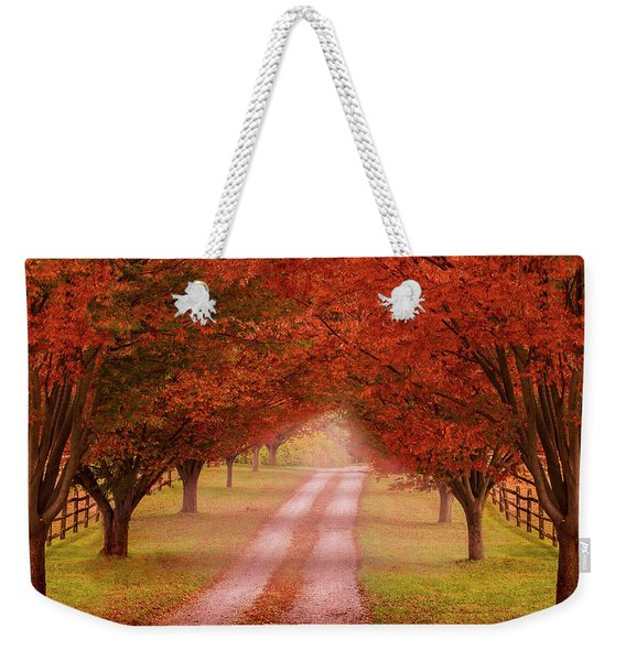 Way To The Farm Weekender Tote Bag