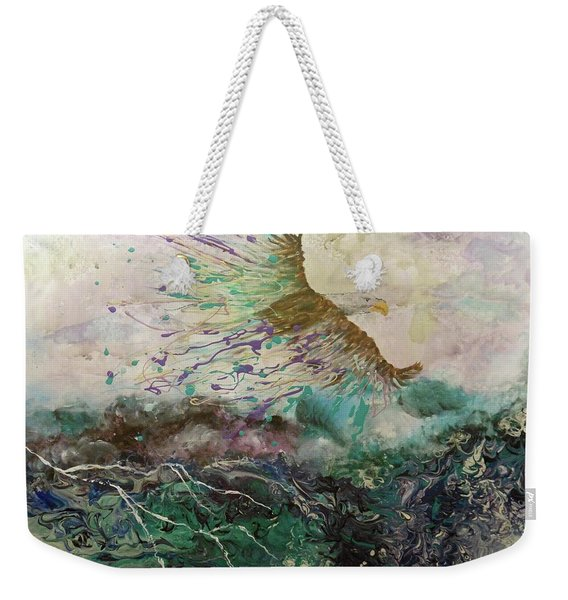 We Rise Above Our Storms Weekender Tote Bag