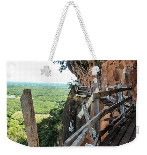 We Take Our Guests Here If They Are Brave Enough Weekender Tote Bag