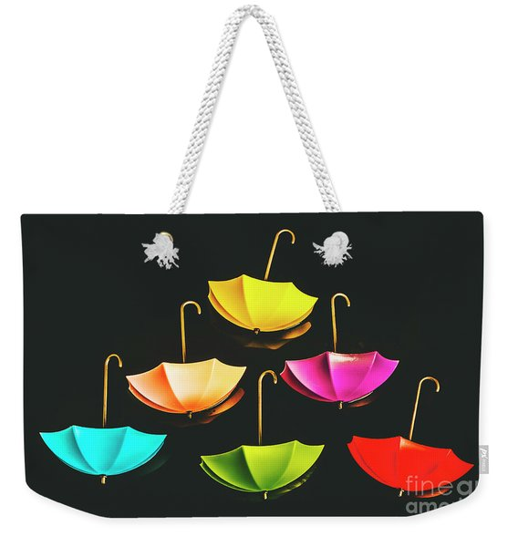 Weather Or Not Weekender Tote Bag