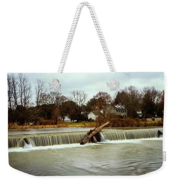 Wehr's Dam - Kodak Color Profile Weekender Tote Bag