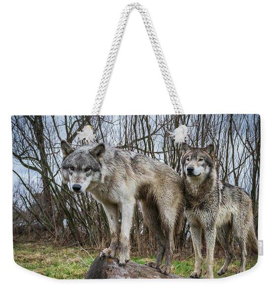 Well Hello Weekender Tote Bag