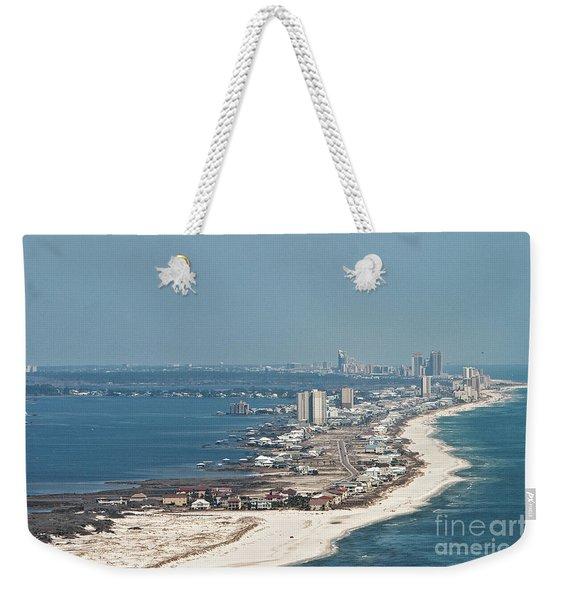 West Beach-1 Weekender Tote Bag