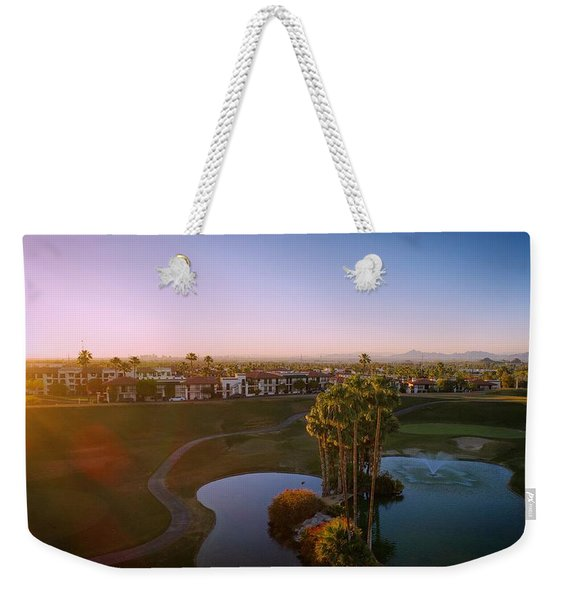 West Coast Vibe Weekender Tote Bag