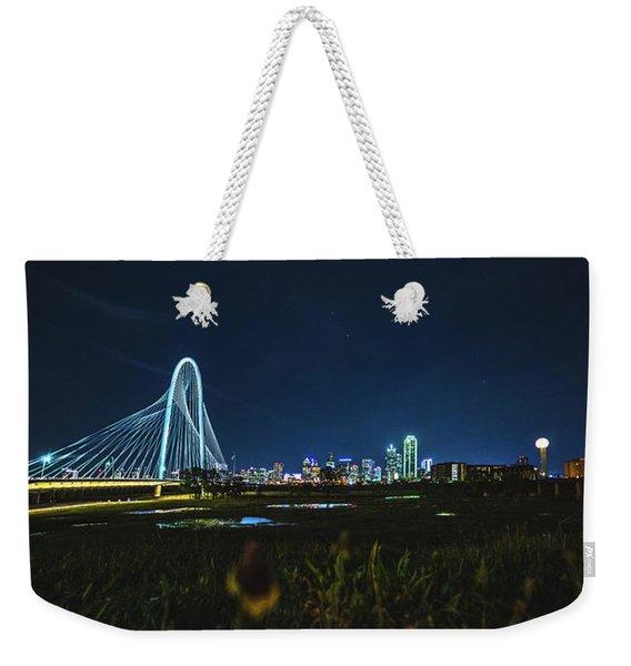 West Dallas Flower Weekender Tote Bag
