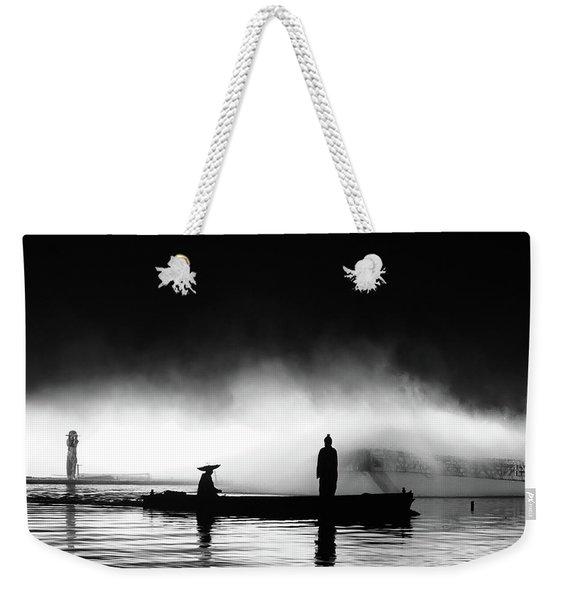 West Lake Weekender Tote Bag