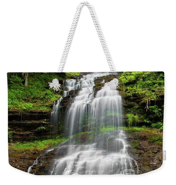 West Virginia Waterfalls Poster Weekender Tote Bag