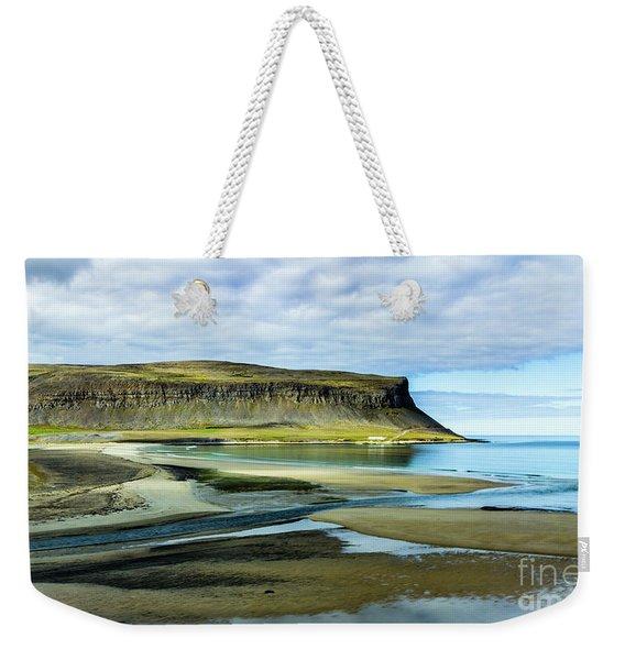 Westfjords, Iceland Weekender Tote Bag