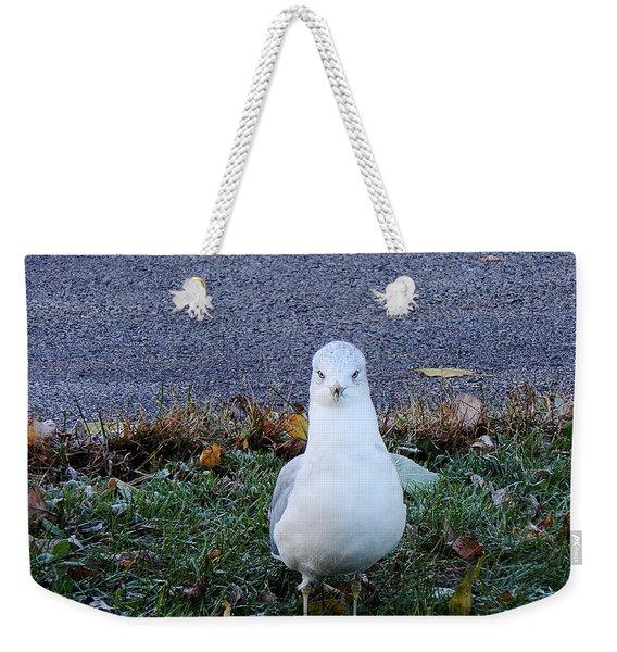Whadda Are You Lookin At Weekender Tote Bag
