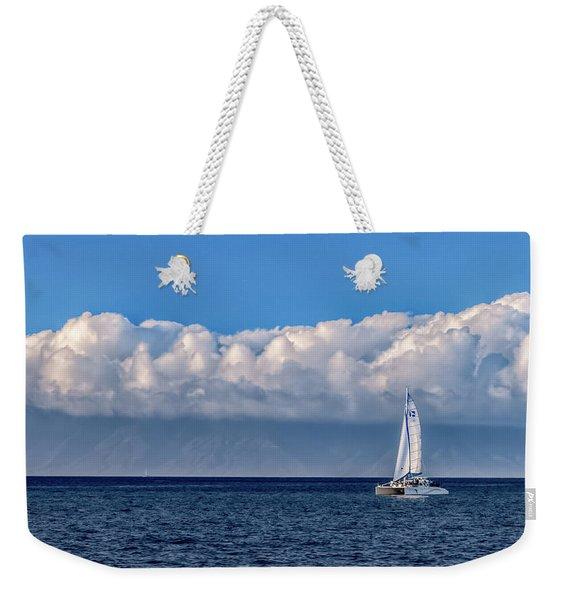 Whale Watching Weekender Tote Bag