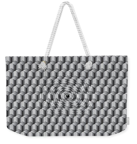 What Does Ai Look Like To Ai Weekender Tote Bag