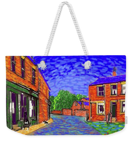 What If...vincent Went To Gildersome Weekender Tote Bag