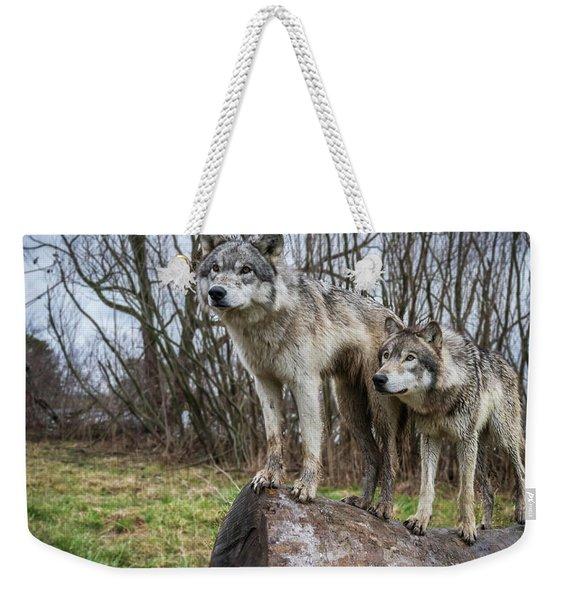 What Ya Looking At Weekender Tote Bag