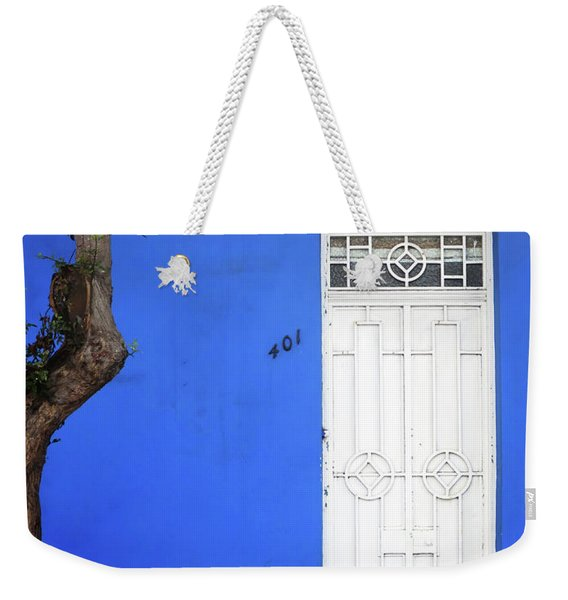 When A Tree Comes Knocking Weekender Tote Bag